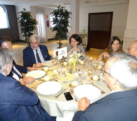 José María Beneyto, Francisco Miñana, Gonzalo Babé, Carmen Vindel, Carla Fernández Durán, Juan Miguel Márquez y Luis Lucena
