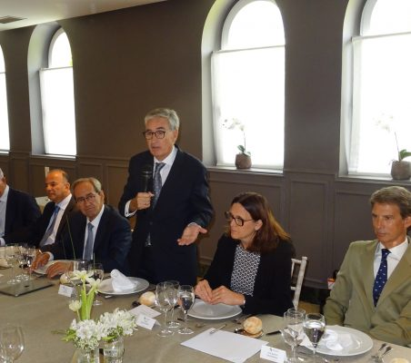José María Torroja, Claudio de la Puente, José Manuel González-Páramo, Ramón Jáuregui, Cecilia Malmström y José Ignacio Salafranca