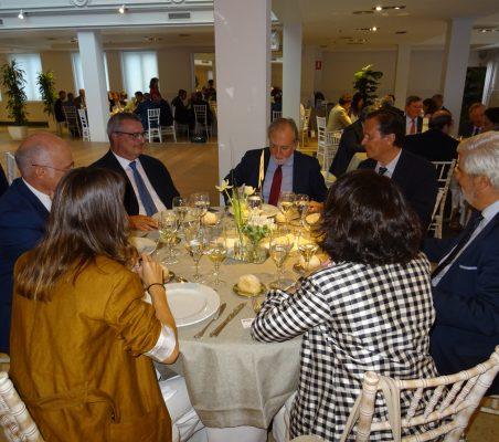 Juan Miguel Márquez, Luis Lucena, José María Beneyto, Francisco Miñana, Gonzalo Babé, Carmen Vindel y Carla Fernández Durán