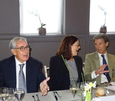 Ramón Jáuregui, Cecilia Malmström¡ y José Ignacio Salafranca