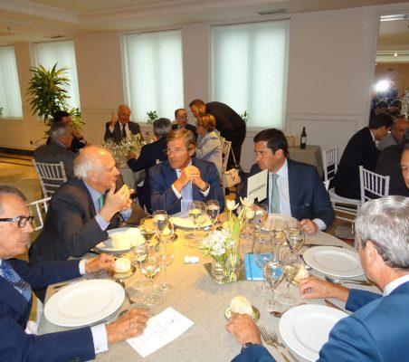 Santiago Martínez Lage, Carlos Malamud, Ignacio M. Benito, Julián Obiglio, Carlso Arta, y José Francisco Mateu