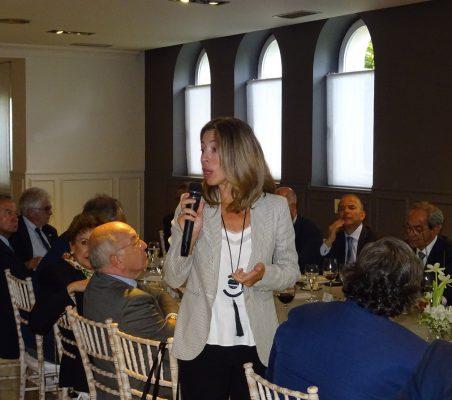 Xiana Méndez, Secretaria de Estado de Comercio, se dirige a los asistentes