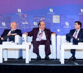 Abel Hibert, Alfonso Morcos y Roger González