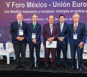 Abel Hibert, José Enrique Alba, Alfonso Morcos, Roger González y Ángel Durández