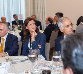 Alfonso Romo, María Victoria Zingoni y Julián Ventura