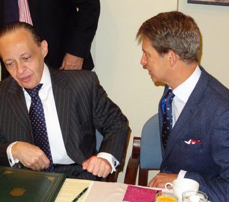 Pompeu Andreucci Neto y José Ignacio Salafranca