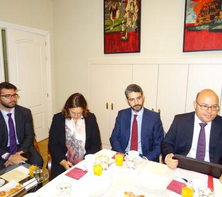 Marllon Abelha, Berta Fuertes, Bruno Calvo y Victor Baz