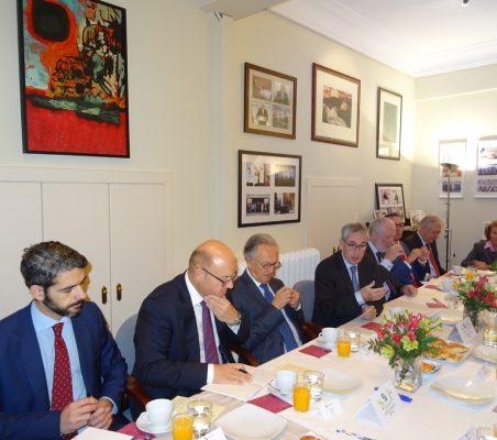 Bruno Calvo, Victor Baz, Ángel Durández, Ramón Jáuregui, José Luis López-Schümmer, José Manuel Sáez, Germán Rios y Luisa Peña