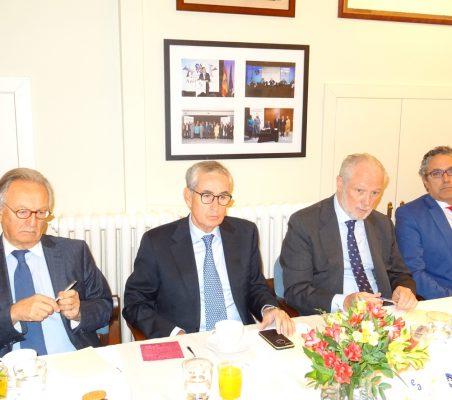 Ángel Durández, Ramón Jáuregui, José Luis López-Schümmer y José Manuel Sáez
