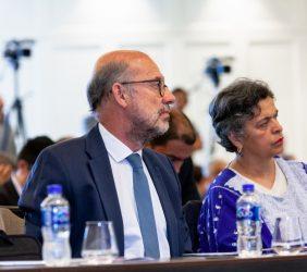 Embajador López-Dóriga y la Senadora de la República, Beatriz Paredes