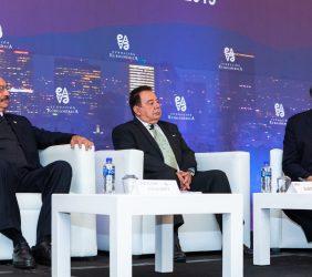 Subsecretario Cedric Iván Escalante, Max Zurita y Alberto Bello
