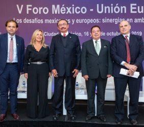 Celestino Rodríguez, Trinidad Jiménez, Subsecretario Cedric Iván Escalante, Max Zurita y Alberto Bello