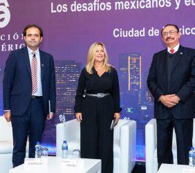 Celestino Rodríguez, Trinidad Jiménez y Cedric Iván Escalante
