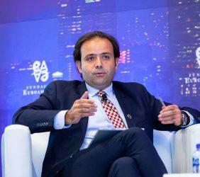 Celestino Rodríguez (Ineco) durante su intervención