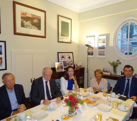 Carsten Moser, José Luis López-Schümmer, Soraya Gamonal, Luisa Peña y José Humberto Solorza