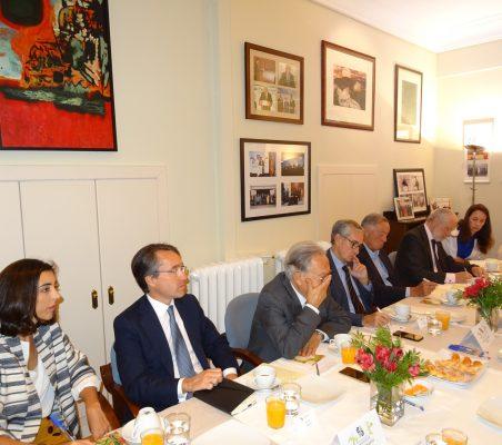 María Lahore, Héctor Flórez, Ángel Durández, Ramón Jáuregui, Carsten Moser, José Luis López-Schümmer, Soraya Gamonal y Luisa Peña