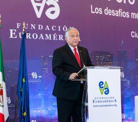 El Secretario de Turismo, Miguel Torruco