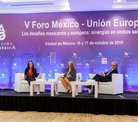 Eva Carballeira, Luz María de la Mora y Ramón Jáuregui