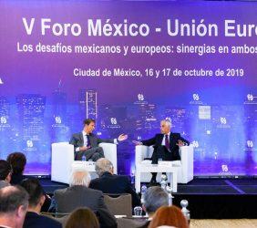 José Ignacio Salafranca, Vicepresidente de la Fundación Euroamérica y Subsecretario Julián Ventura