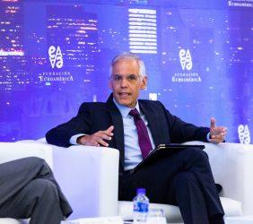 Juilán Ventura durante su intervención