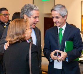 Luisa Peña, José Gasset y Enrique Alba