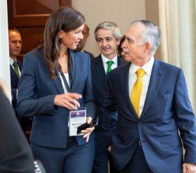María Victoria Zingoni y Alfonso Romo