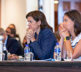 María Victoria Zingoni, Repsol, y Carla Gabriela González, CNH