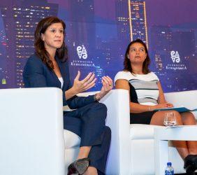 María Victoria Zingoni y Carla Gabriela González