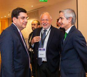 Roger González, Abel Hibert y José Enrique Alba