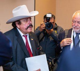 Senador Guadiana y Abel Hibert