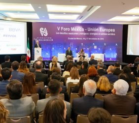 Sesión Inauguración del V Foro México-UE