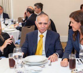 Trinidad Jiménez, Alfonso Romo y María Victoria Zingoni