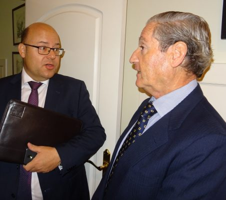 Víctor Baz y José Francisco Mateu