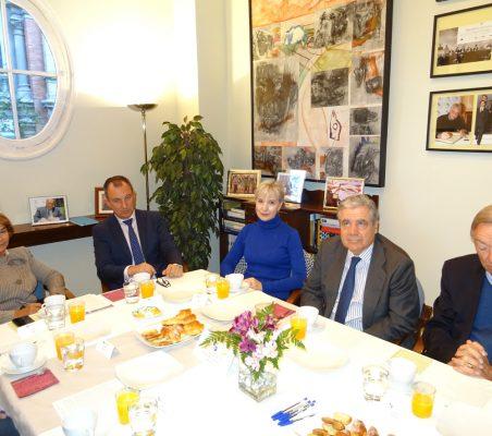 Luisa Peña, Carlos Artal, Doris Seedorf, José Gasset y Carsten Moser
