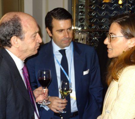 Antonio Sánchez Bustamante, Rafael Hoyuela y María Abascal