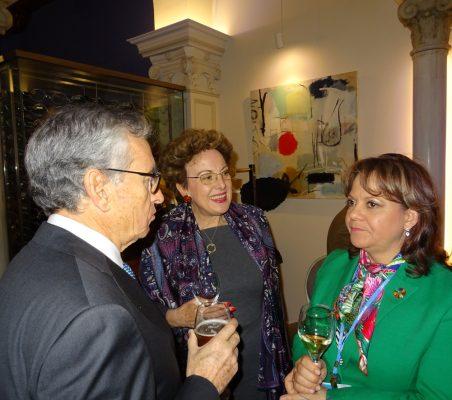 Ramón Jáuregui, Roberta Lajous y Martha Delgado