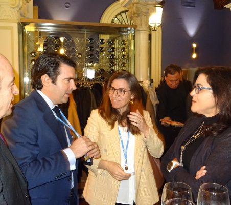 Antonio Sánchez Bustamante, Rafael Hoyuela, María Abascal y Gemma Ginés