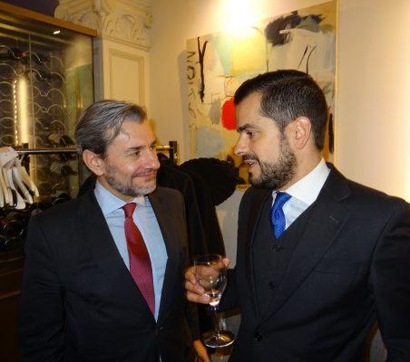 Rafael García del Poyo y Antonio Cuenca