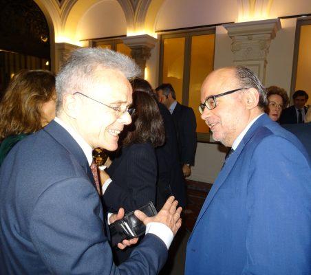 Juan Agustín Alberro y Bernabé Aguilar