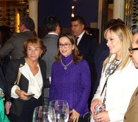 Luisa Peña, Gina Magnolia Riaño, Érika Salazar y Enrique Vargas