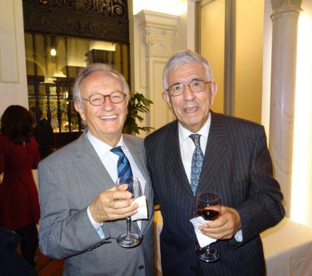 Ángel Durández y Fernando Labrada