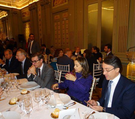Ángel Galán, Embajador Muñiz, Carlos San Basilio, Gina Magnolia Riaño y Héctor Flórez
