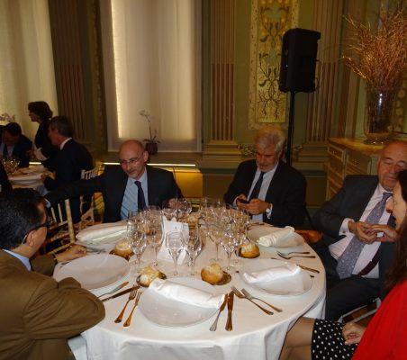 Enrique Vargas, Fernando González, Gonzalo Babé, Miguel Vergara y Soraya Gamonal