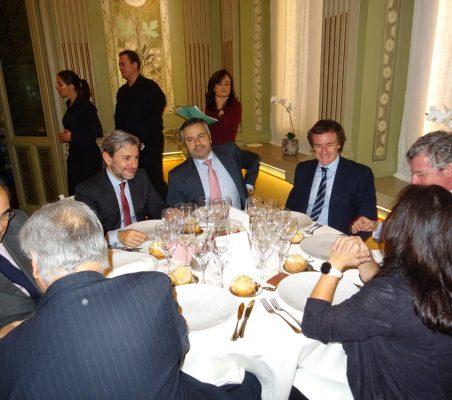Germán Ríos, Joaquín de la Herrán, Rafael García del Poyo, Rafael Duarte, Alberto Silleras, Claudio Vallejo y Gemma Ginés