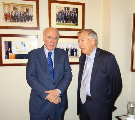José Antonio García Belaunde y Carsten Moser