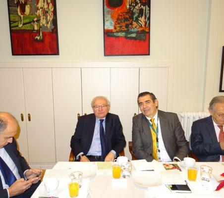 Rafael Sánchez, Almerino Furlan, José Humberto Solorza y Ángel Durández