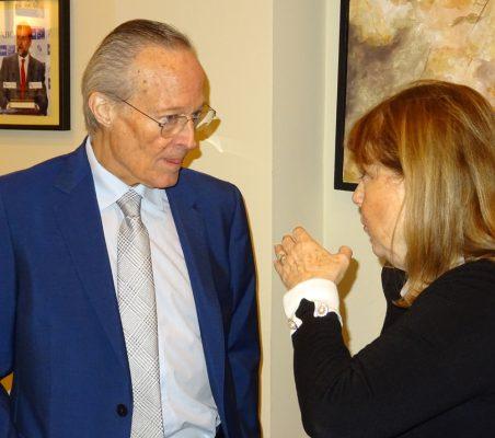 Josep Piqué y Susana Malcorra