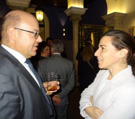 Víctor Baz y María Abascal