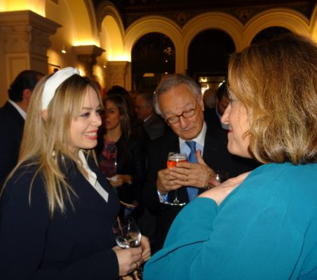 Erika Salarzar, Ángel Durández y Eva Monroy