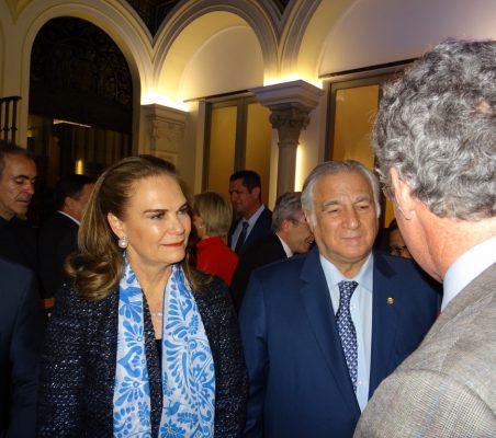 Gloria Garza y Miguel Torruco